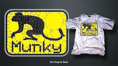 Munky - Shirt Design 01 (noelevz) Tags: shirt design