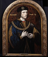 Richard III, uncle of Elizabeth of York, great...