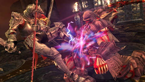 Soulcalibur Broken Destiny PSP screenshot