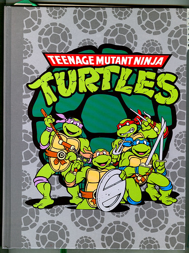 """Teenage Mutant Ninja Turtles"" - RETRO Sketchbook { Cover art design by Lavigne / Brown } (( 2009 ))"
