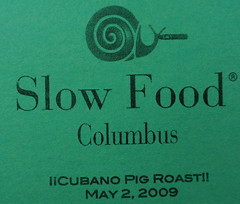 Slow Food does not endorse snails smoking Cuban cigars - because Cuban cigars are illegal