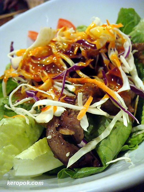 Oriental Beef salad