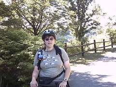 Jane on Bike