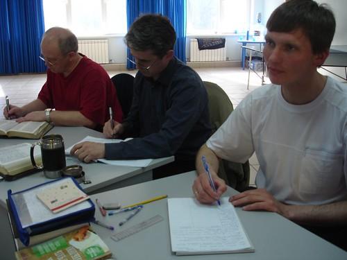 Slujitorii bisericii din Novokuznetsk la sesiunea din Ungut
