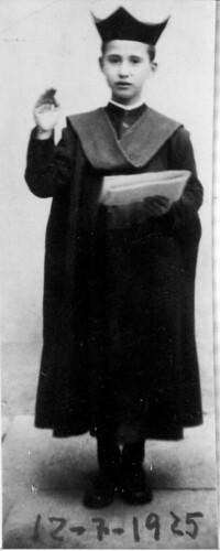 EL SEISE GREGORIO MATEO GUZMÁN DE LA PLAZA EN 1925