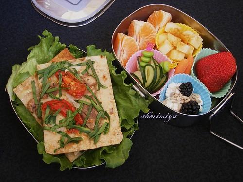Lavash bento - maki's vegetarian bento contest