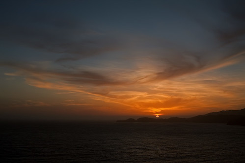 Point Bonita Sunset