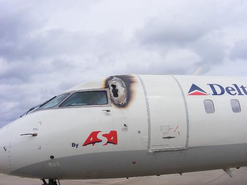 Delta ASA hit by Lightning strike - C2194272