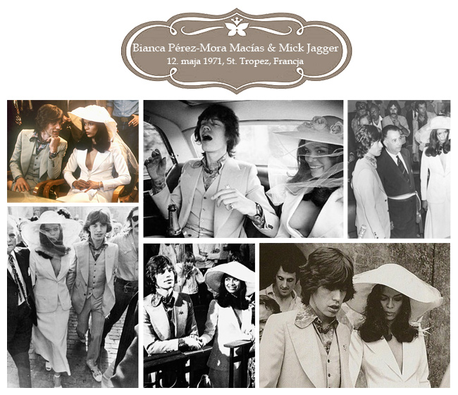 Sławne wesela – Bianca & Mick Jagger
