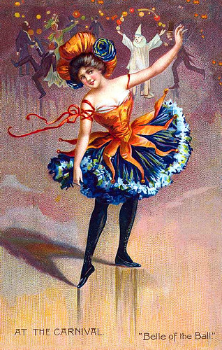 The Carnival Ballerina!