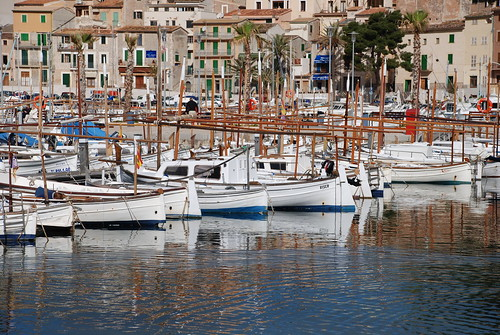 Boats in Port de Soller