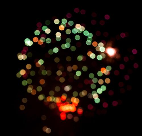 Kauno dienos 2009 | Fireworks bokeh