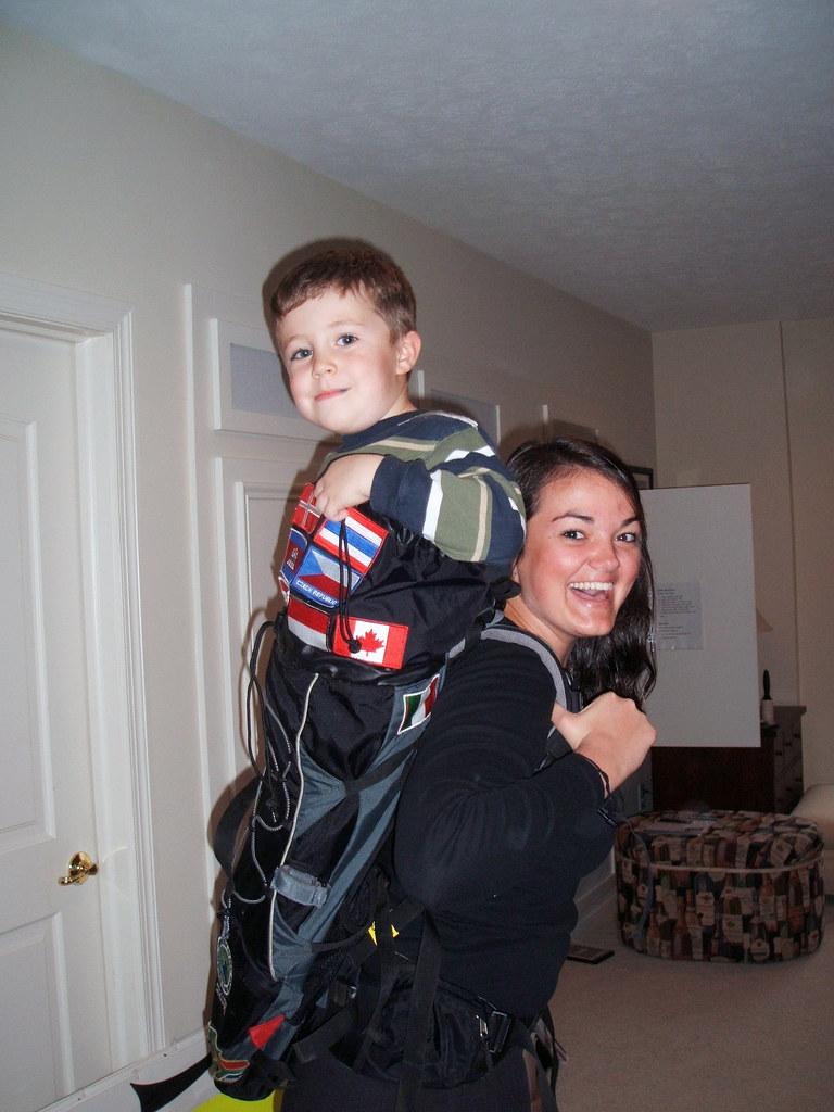 Lindsay Clark's Jansport Backpack