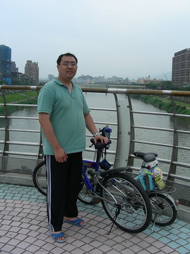 端午龍舟賽-老公與單車