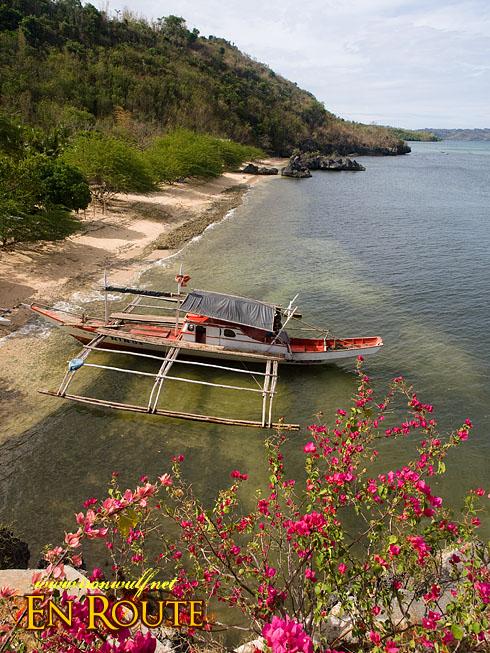 Cueva Cansubong Park beach View