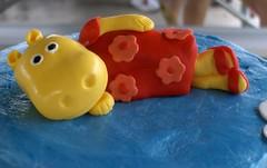 Ayla's 1st Birthday topper-Tasha (The Cake Lady and Sidekick) Tags: birthday birthdaycake tasha fondant buttercream backyardigans