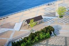 Nakayan's tilt-shift Japan-The Blue Sea Park in Aomori,Japan--1f9883cf (pinboke_planet) Tags: nakayan hakoniwa  tiltshift miniaturefake aomori   canon eos mark5d tselens 90mmf28