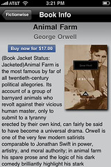 Animal Farm by George Orwell available as a $17 eBook