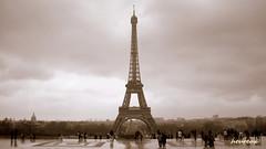 la tour eiffel (-heureux-) Tags: paris france frankreich tour grau eiffel turm kule fransa gri