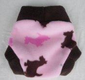 Inspiration Cover, Pink Scotty Dogs (0-3mo/newborn) **FFS Lottery!*