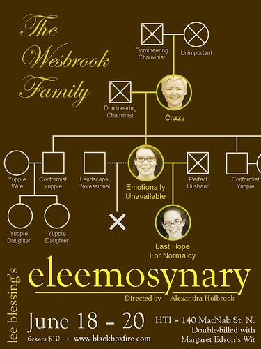 eleemosynary genogram poster
