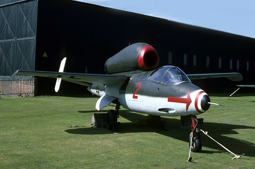 Heinkel He 162 120227 Luftwaffe RAF St. Athan