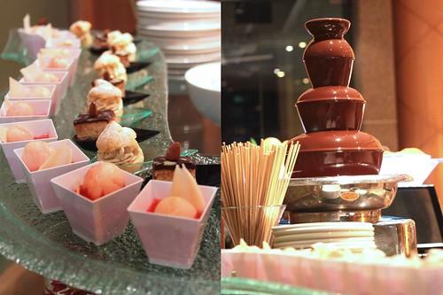 Desserts & Chocolate fondue