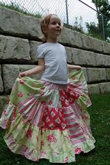 Wiiiiide (ladinka) Tags: pink girl girly sewing skirt patchwork darla analise sandihenderson tanyawhelan