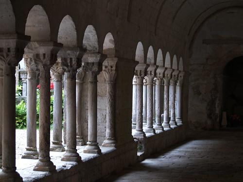Monastir de Sant Daniel (claustre)