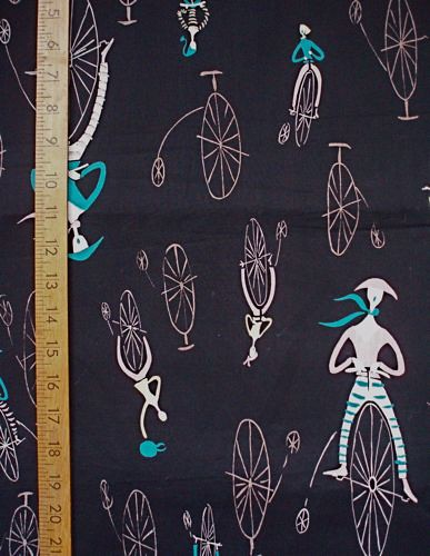 1950's Cycling Fabric