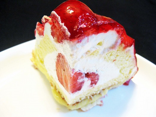 Strawberry dome cake from Shinjuku Takako