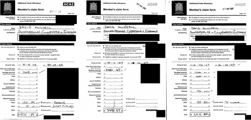 David Mundell Mortgage expenses