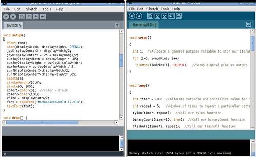 Processing - Arduino IDE