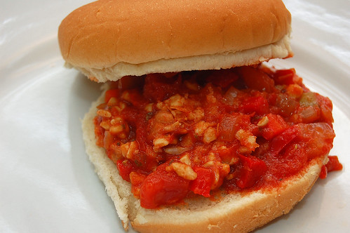 Vegetarian Sloppy Joes with Tempeh