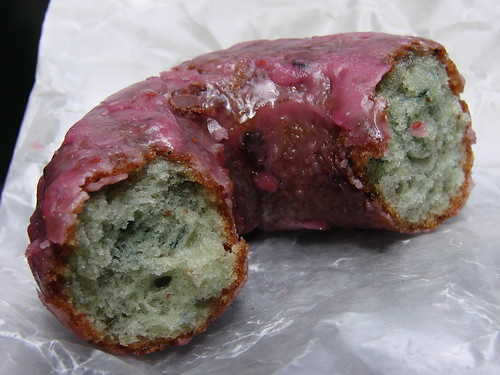 Blueberry Doughnut from the Doughnut Plant