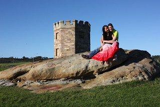 Mai Anh & Nico at the fortress of La Perouse
