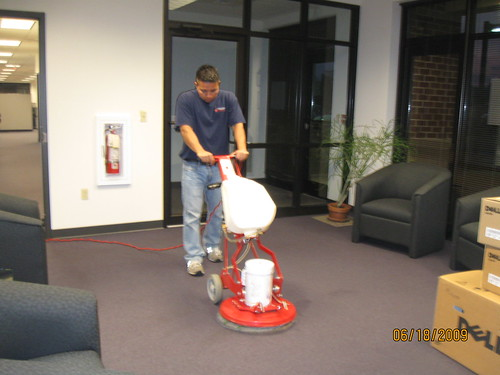 After Hours Janitor Service - Commercial Building Maintenance