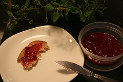 strawberry campari jam