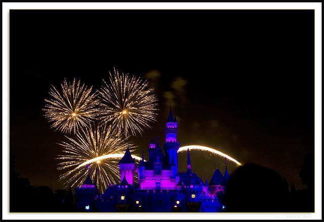 Disneyland fireworks-1