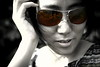 Smooth as Silk (DSLR_MANIA) Tags: portrait girl sunglasses eos chinese korea seoul southkorea eos1d rayban silky desaturate canonef50mmf14usm ef50mmf14usm canon1d eos1dmark3 canon1dmark3 dslrmania