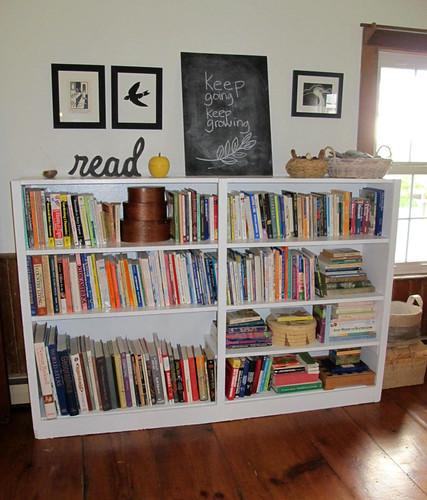 family bookshelf