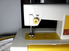 Vintage Sears Crystal Toy Sewing Machine