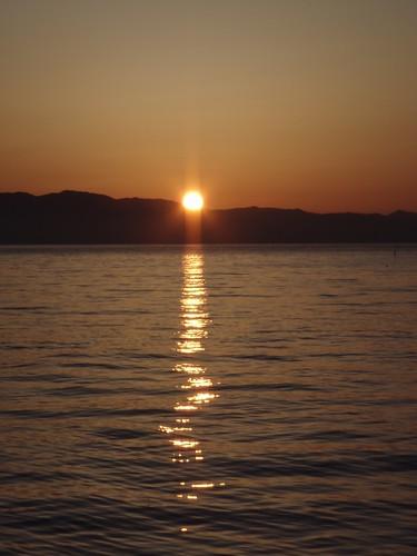 北海道本土からの日の出