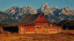 Thomas A. Moulton Barn (Jeff Clow) Tags: ranch barn rural bravo wyoming tetons grandtetonnationalpark jacksonholewyoming moultonbarn thomasmoultonbarn
