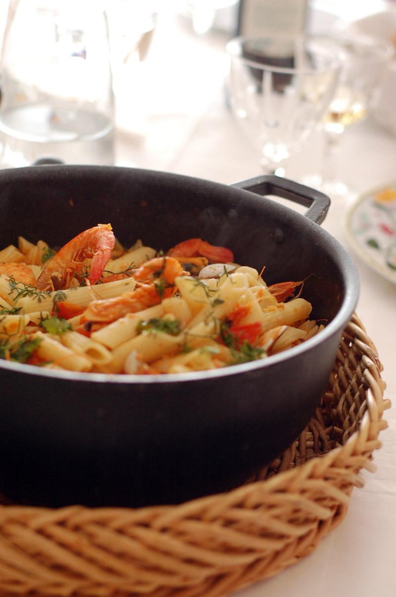 Seafood Pasta // Massada de marisco