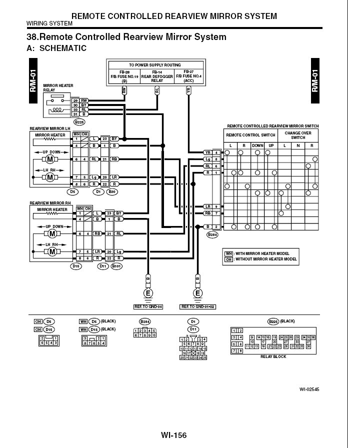 All I Found Were Dead Links  Power Mirror Wiring Diagram