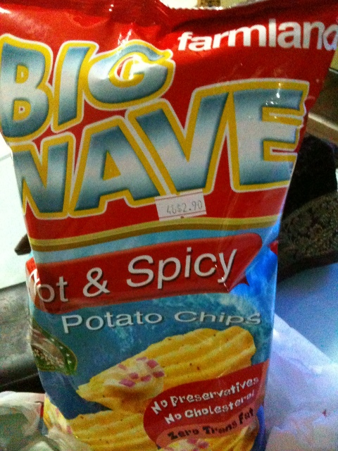 Farmland Big Wave Potato Chips
