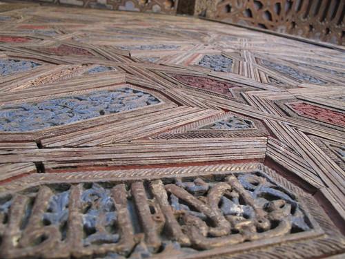 Pattern on a doorway
