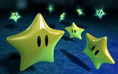 [フリー画像] グラフィックス, CG, 星・スター, 201106020100