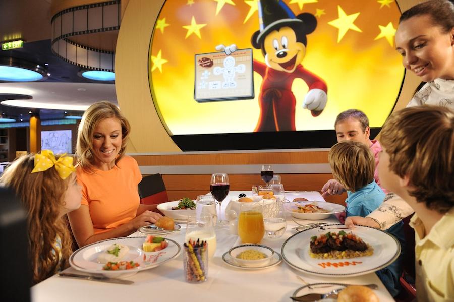Animator's Palate on board the Disney Fantasy